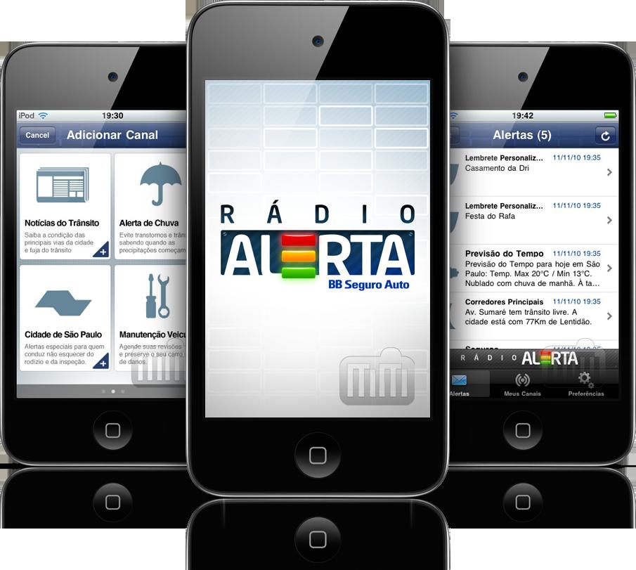 Rádio Alerta - iPods touch