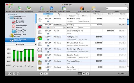 iBank no Mac OS X