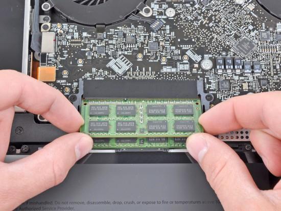 Trocando a RAM do MacBook Pro