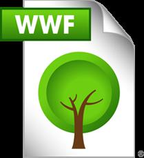 Ícone - arquivo WWF