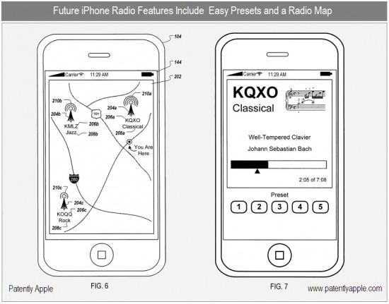 Patente de mapa de estações de rádio