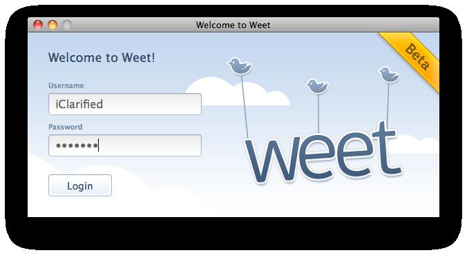 Weet beta para Mac