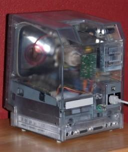 Macintosh transparente