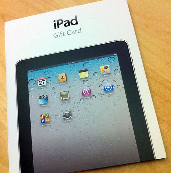 iPad Gift Card