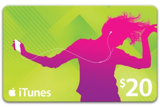 iTunes Gift Card de US$20