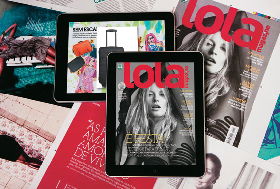 LOLA Magazine no iPad