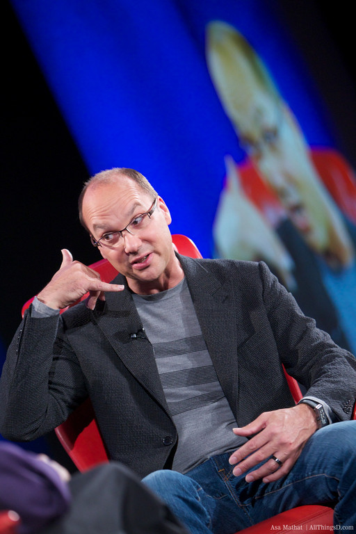 Andy Rubin no Dive Into Mobile - AllThingsD
