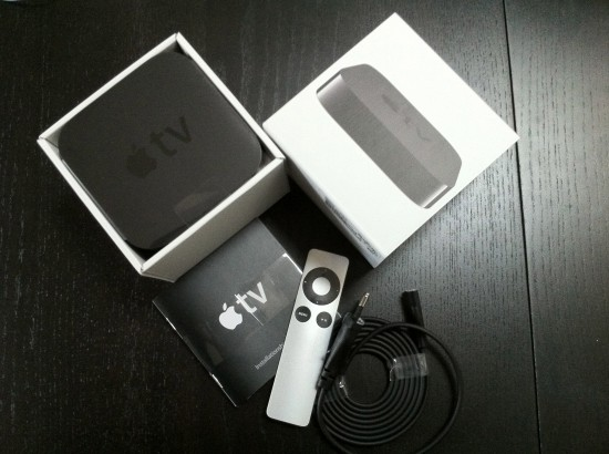 Caixa do Apple TV