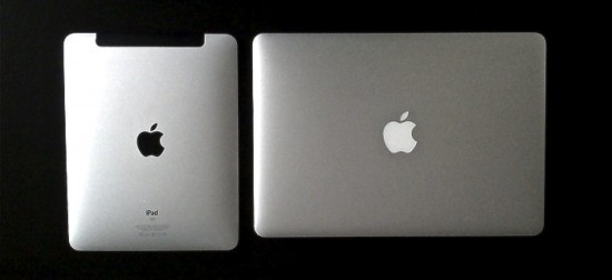 iPad e MacBook Air