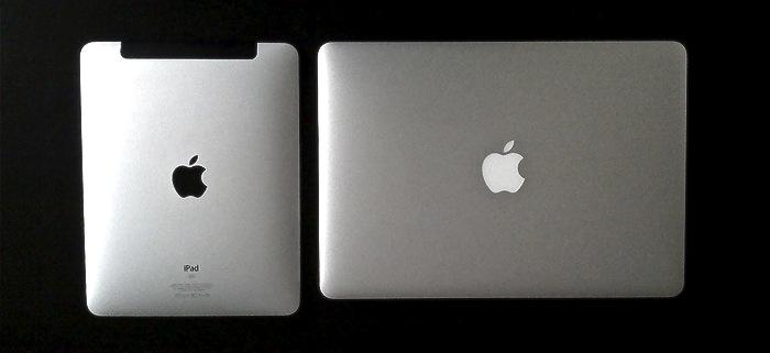 iPad e MacBook Air