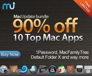 MacUpdate bundle - 90% off