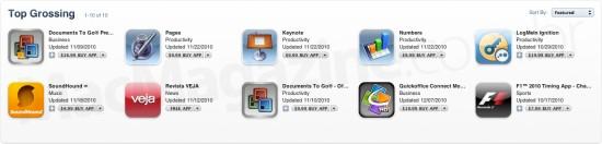 Apps mais populares no Brasil em 2010