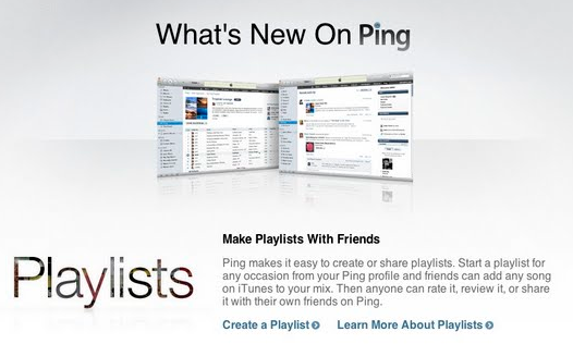Ping Playlists