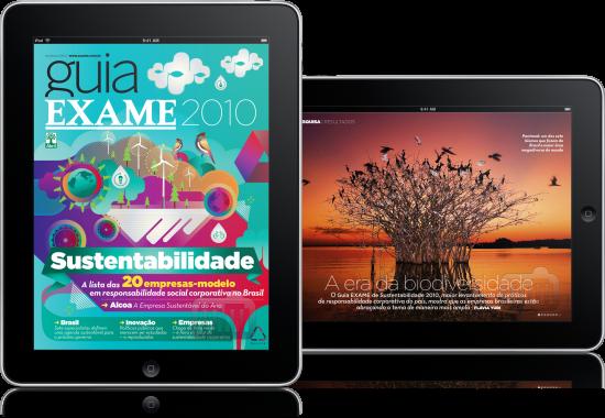 Guia EXAME Sustentabilidade 2010 para iPad