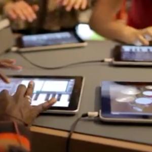 Rappers e iPads