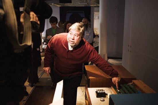 Steve Wozniak no Computer History Museum