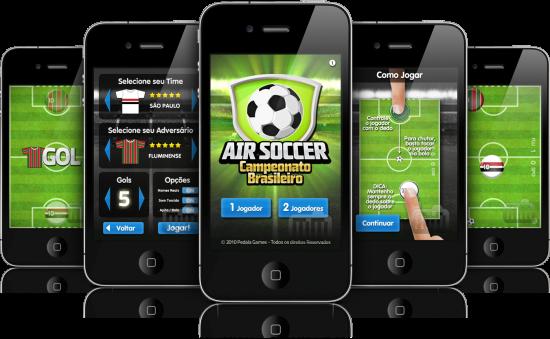 Air Soccer Brasileirão - iPhone