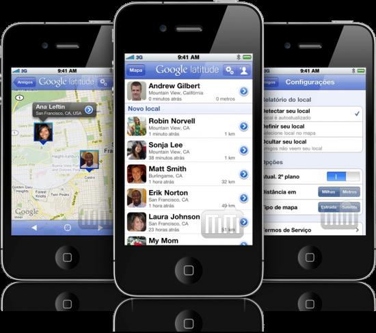 Google Latitude - iPhone