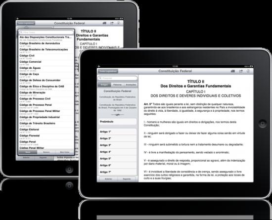 Vade Mecum de Direito para iPad