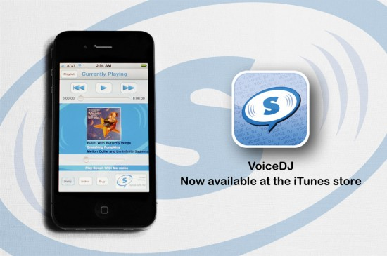 VoiceDJ no iPhone