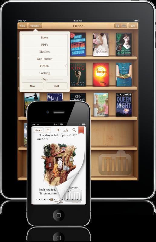 iBooks 1.2 para iOS
