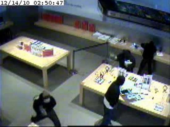 Imagem da invasão em Retail Store de Greenwich - Connecticut