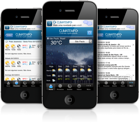Climatempo - iPhone