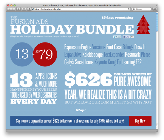 Fusion Ads Holiday Bundle
