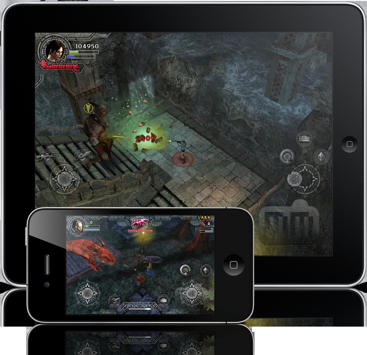 Lara Croft - iPhone e iPad