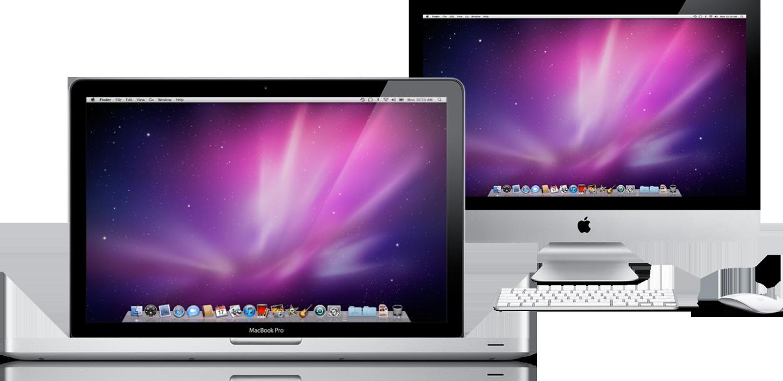 MacBook Pro e iMac