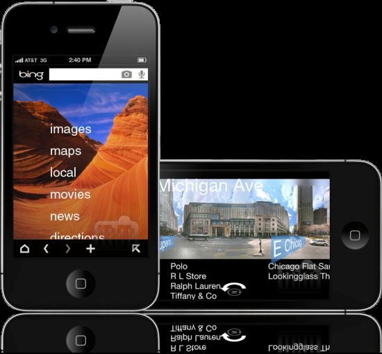 Bing - iPhone
