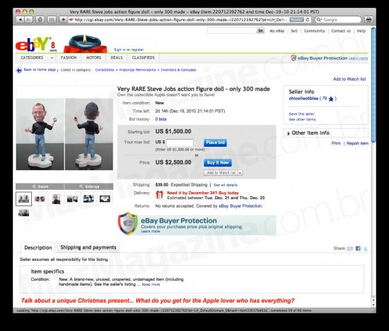 Miniatura de Jobs no eBay