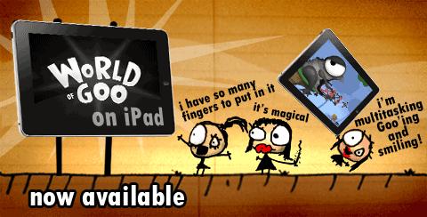 World of Goo no iPad