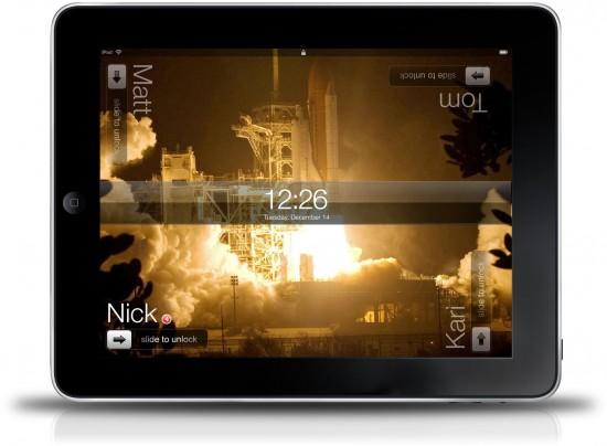 Multi-user iPad Concept