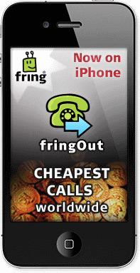 fringOut no iPhone