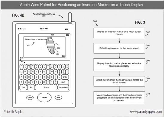 Patente sobre multi-touch