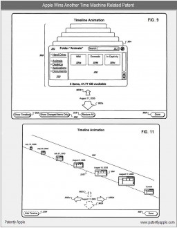Patentes do Time Machine