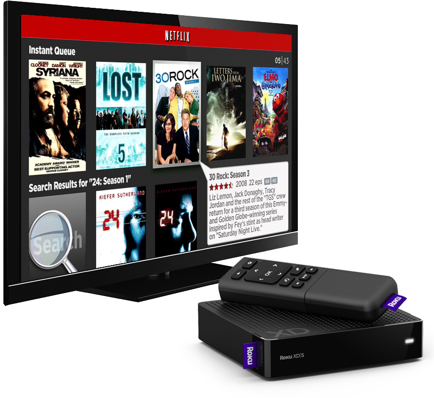 Set-top box da Roku