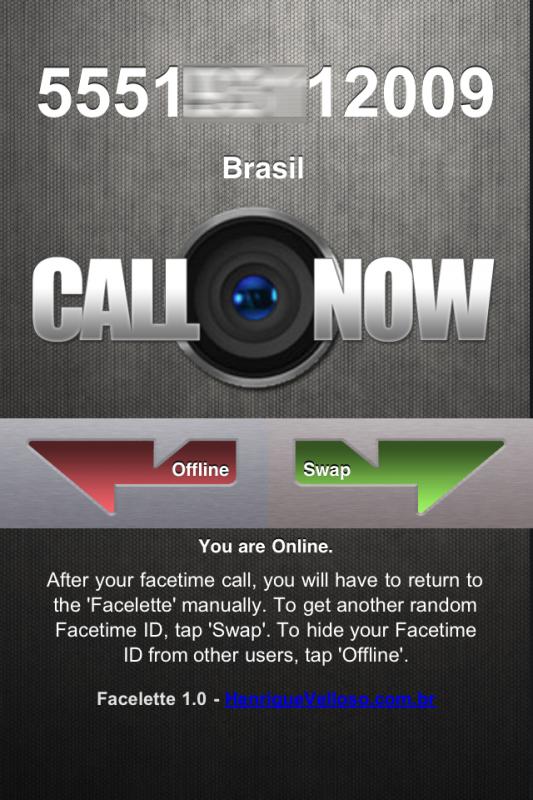 Facelette para iPhone