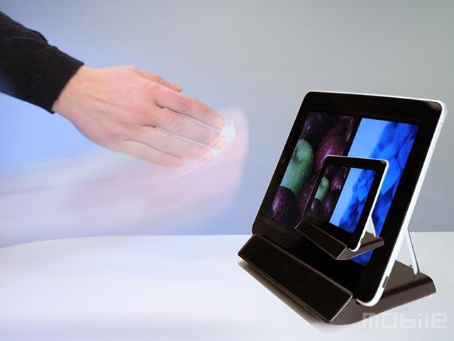 iPad controlado por gestos à la Kinect