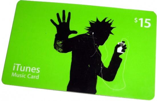iTunes Gift Card em scam