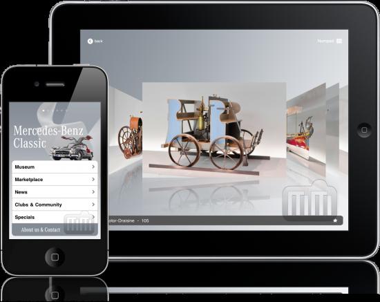 Mercedes-Benz Classic - iPad e iPhone