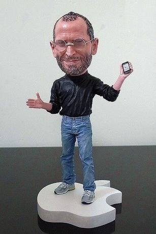Miniatura proibida de Steve Jobs