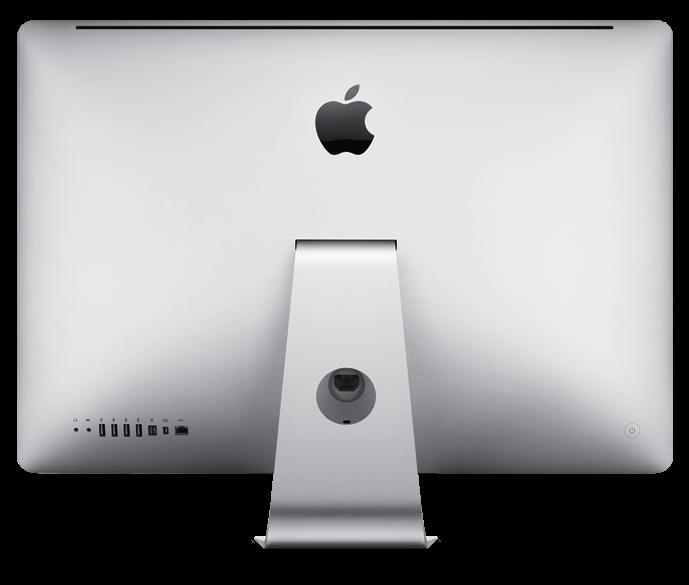 Costas do iMac
