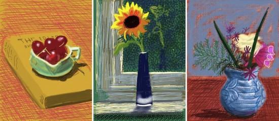 Flores Frescas - David Hockney