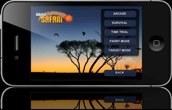 Dodgeball Safari - iPhone