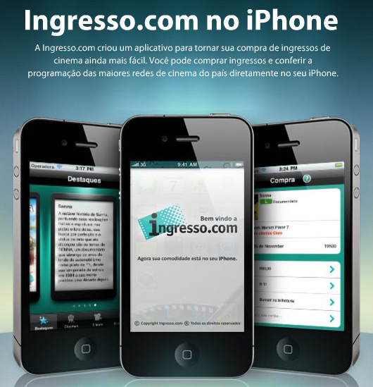 Ingresso.com no iPhone