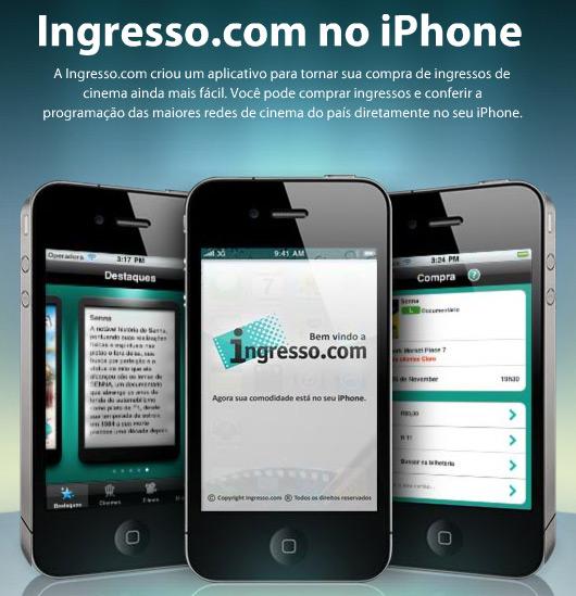Ingresso.com no iPhone