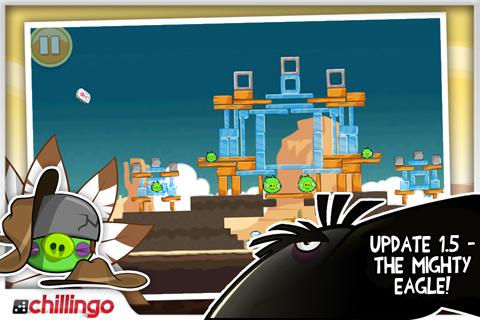 Angry Birds 1.5 para iOS
