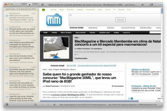 Browser do Reeder